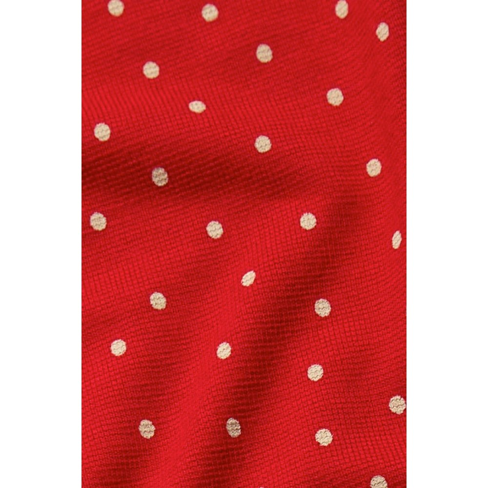 King Louie Kleid Duffy Mini Dress Little Dots red   Shoes & the City